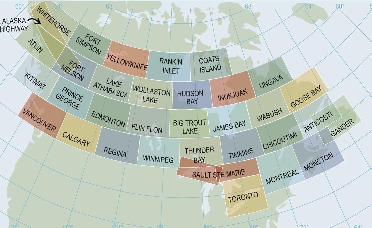 Canadian vfr navigation charts from sporty s pilot shop