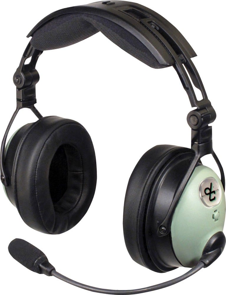 David Clark Dc One X Headset From Sporty S Pilot Shop