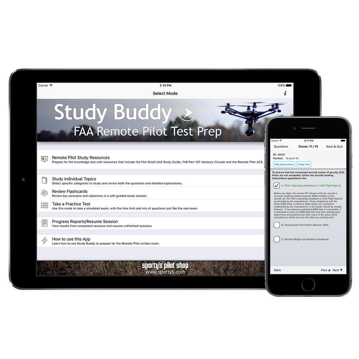 sporty u0026 39 s drone study buddy