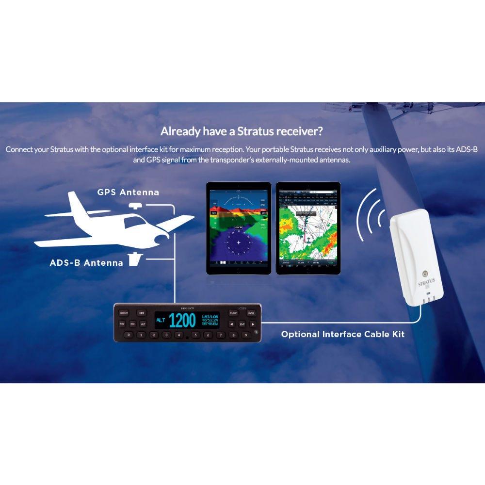 Stratus Esg Ads-b Transponder - Certified Aircraft
