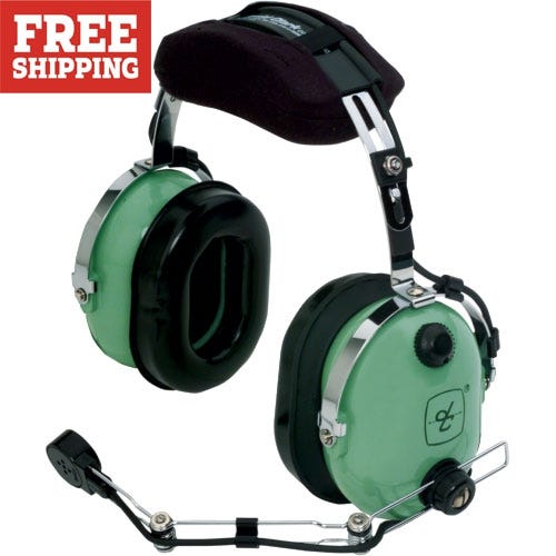 354f88de6dd David Clark H10-66 Headset (for Helicopters) - from Sporty s Pilot Shop