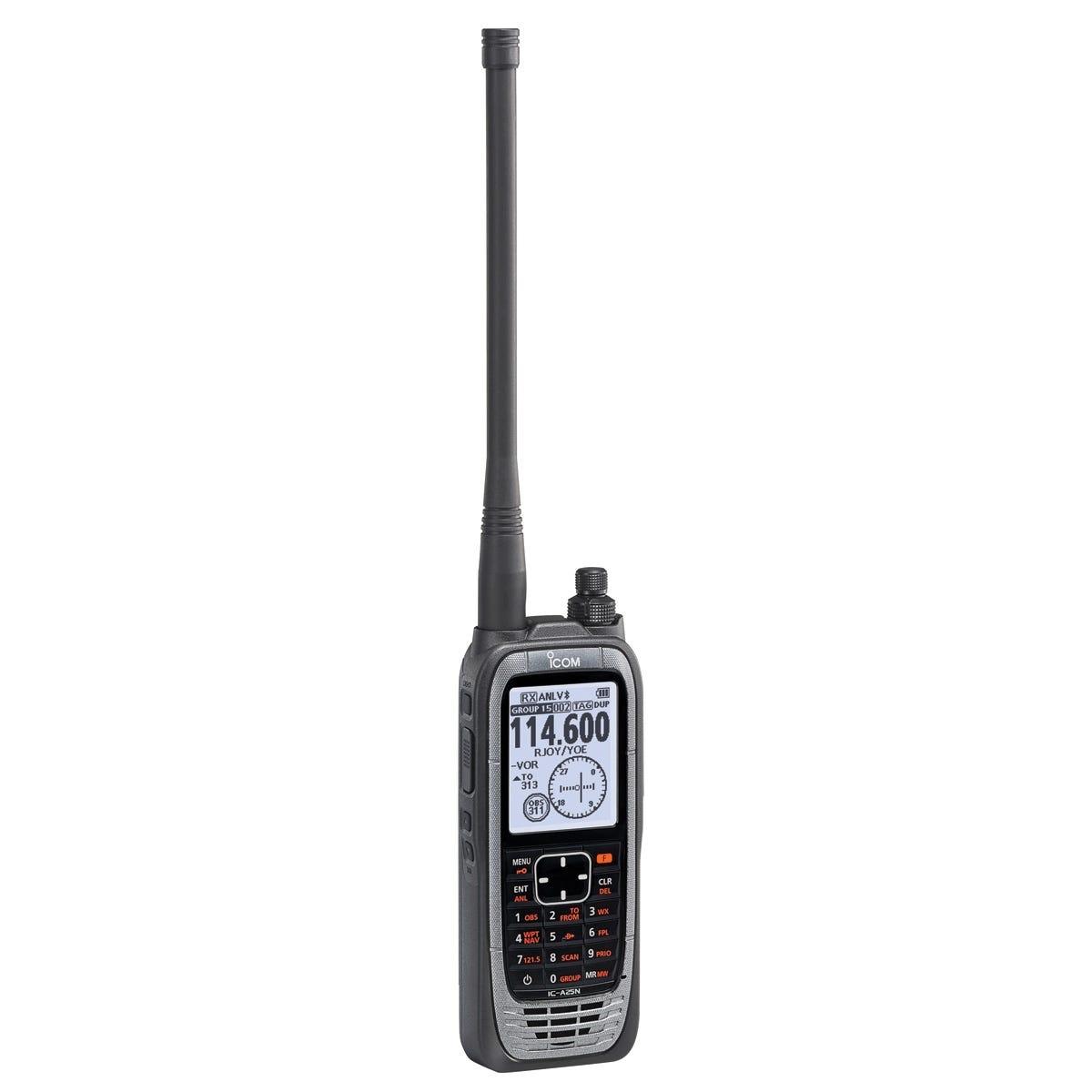 Icom A25n Portable Nav Com Radio From Sportys Pilot Shop Computer Headset Wiring Diagram