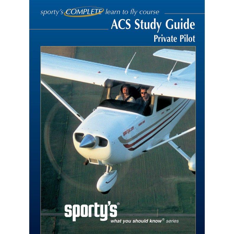 sporty s private pilot acs study guide from sporty s pilot shop rh sportys com Avionics Tech Avionics Technition