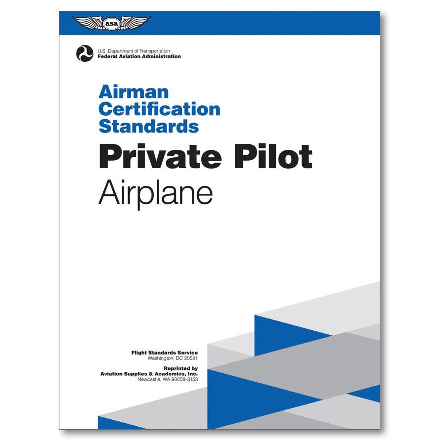Private pilot airman certification standards acs from sportys more photos xflitez Choice Image