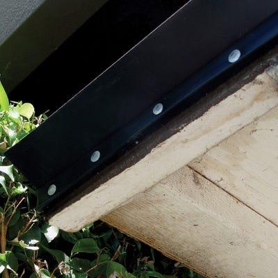 nailon for wooden garage doors