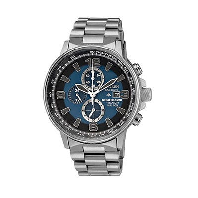 436240c792c Citizen Eco-Drive Nighthawk Chronograph Watch - from Sporty s Wright ...