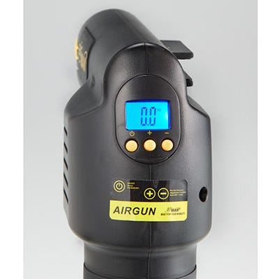 Car Battery Charger Reviews >> Rechargeable Airgun Cordless Air Compressor - from Sporty's Tool Shop