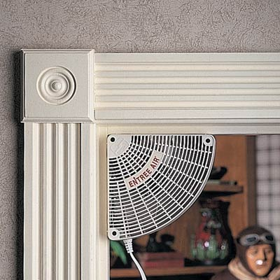 more photos - Door Frame Fan