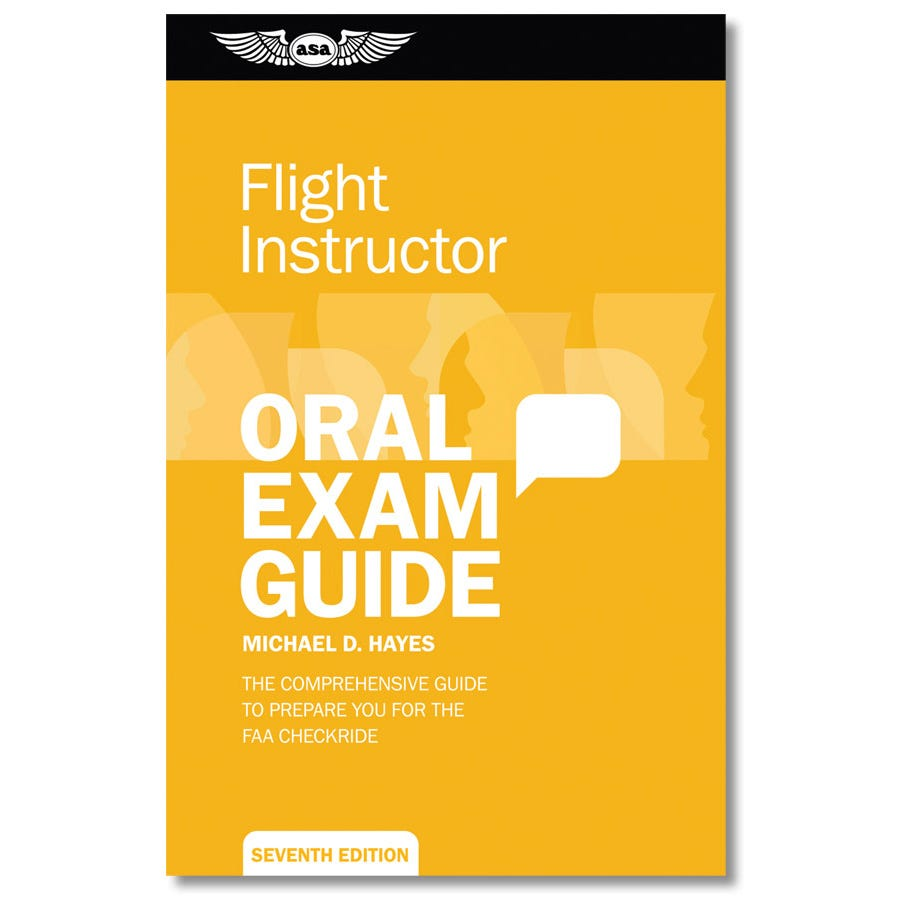 Certified Flight Instructor Oral Exam Guide From Sportys Pilot Shop Kit Protect Oeg