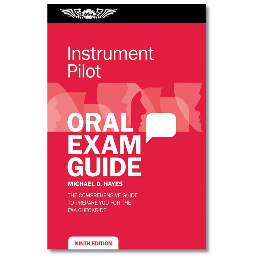 Instrument oral exam guide from sportys pilot shop more photos xflitez Choice Image