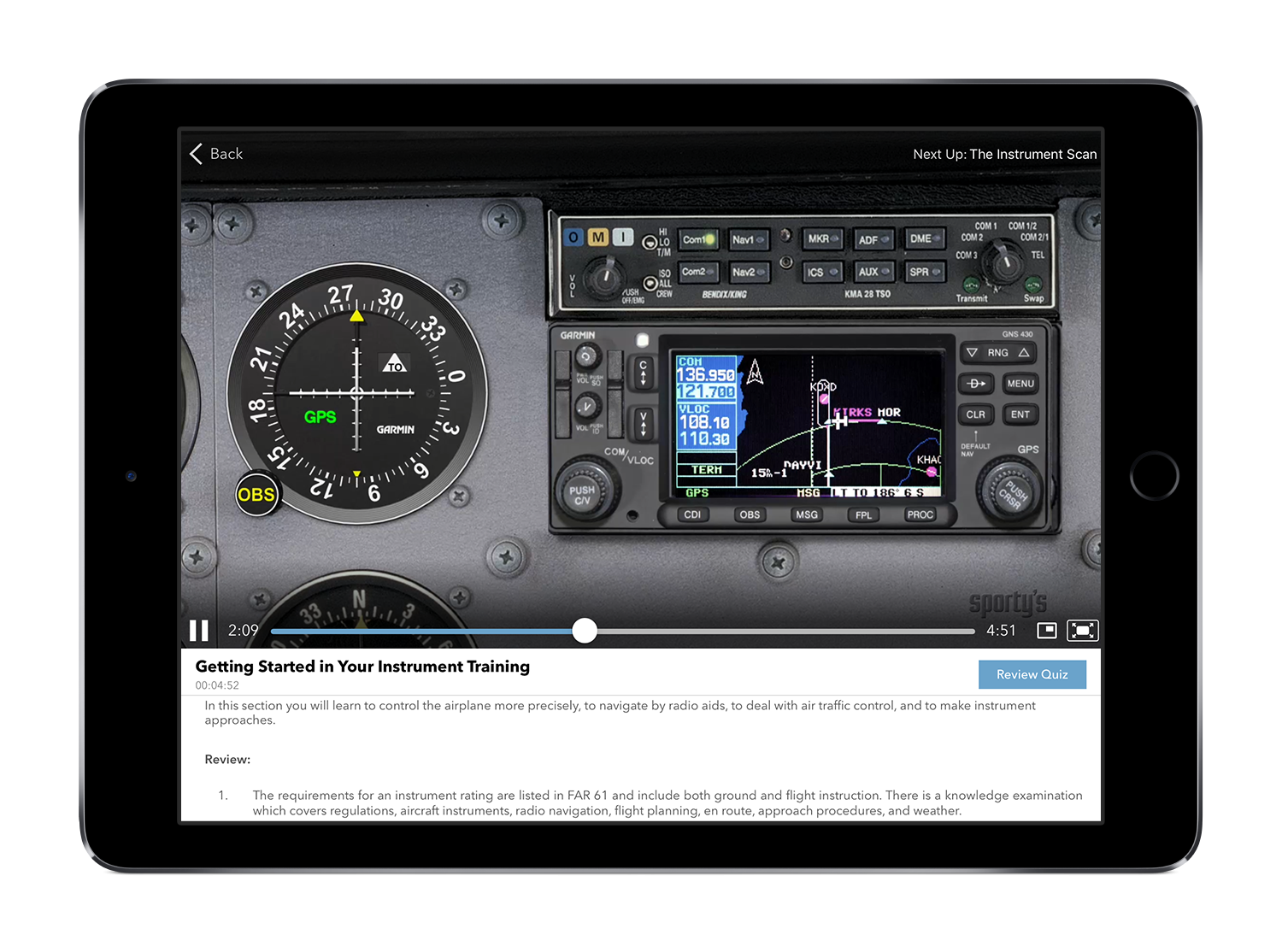 Sporty\'s Instrument Rating Course (Online and App) 2018 Edition ...
