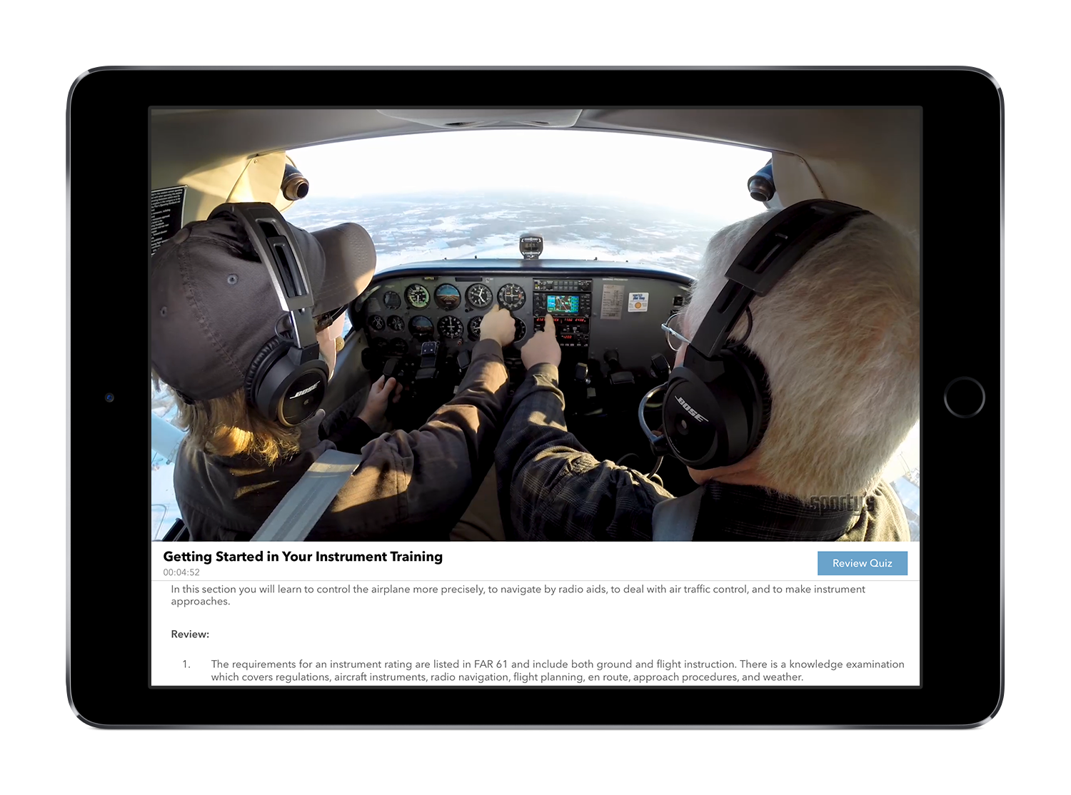 Sportys instrument rating course online and app 2018 edition show all fandeluxe Image collections
