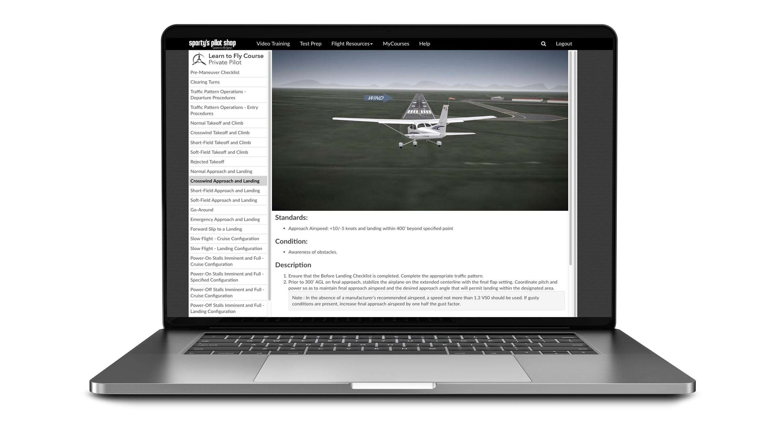 d59ffb31dd7 Learn To Fly Course - Private Pilot Test Prep - from Sporty s Pilot Shop