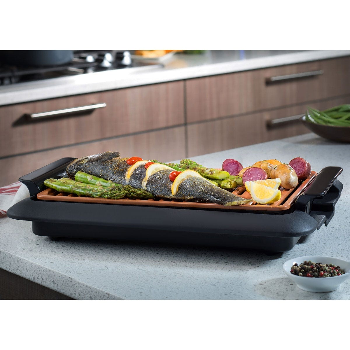 Gotham Steel Smokeless Indoor Grill From Sporty S Tool Shop