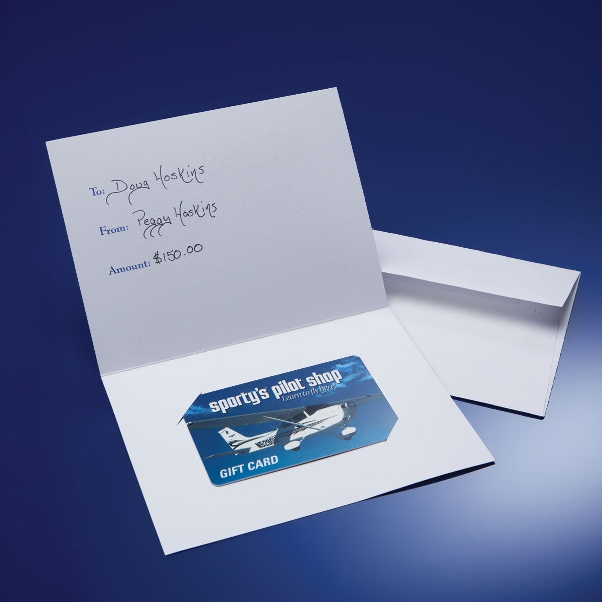 Gift Card/Gift Certificate - from Sporty\'s Pilot Shop