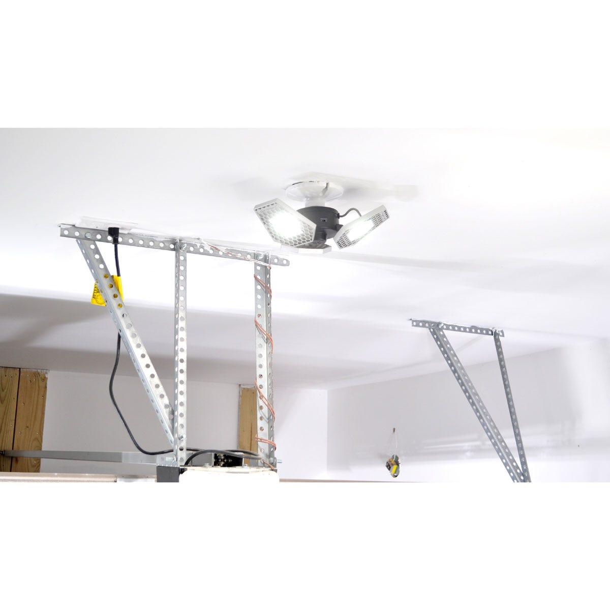 Motion Lights Above Garage: Motion-Sensing Garage Light