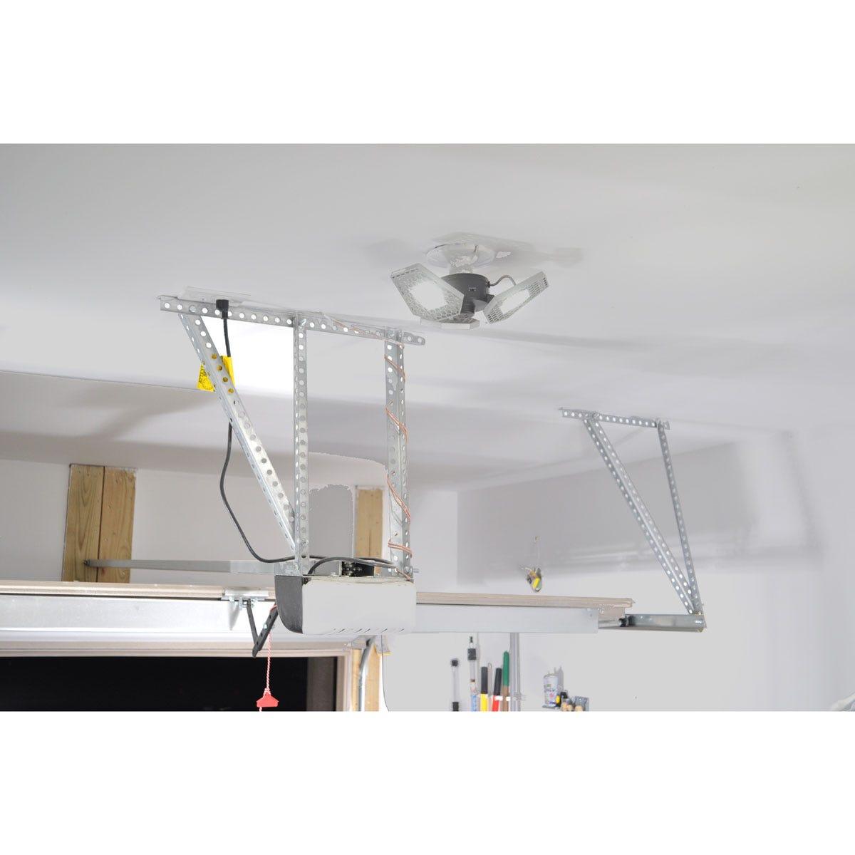 Motion-Sensing Garage Light