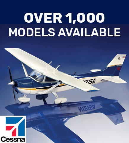 Over 1000 Model Aircraft