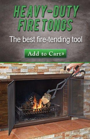 HEAVY-DUTY FIRE TONGS