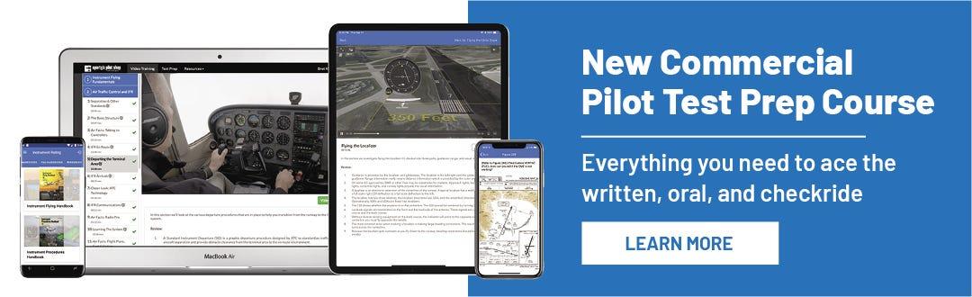 New New Commercial Pilot Test Prep Course