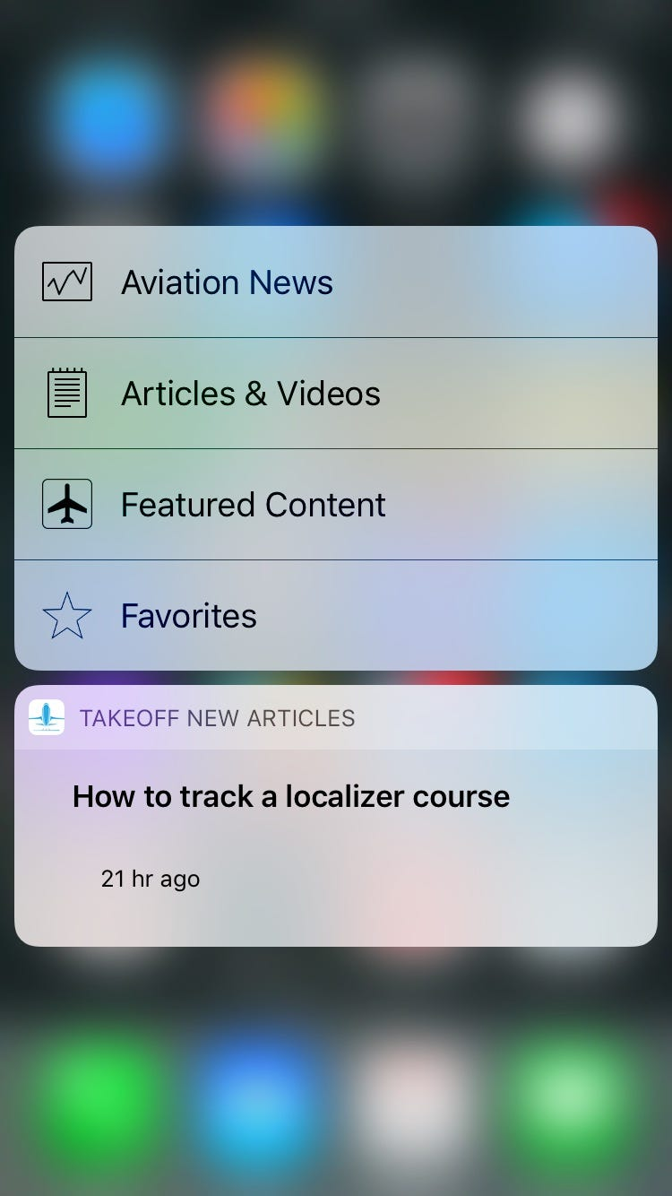 Takeoff 3D touch