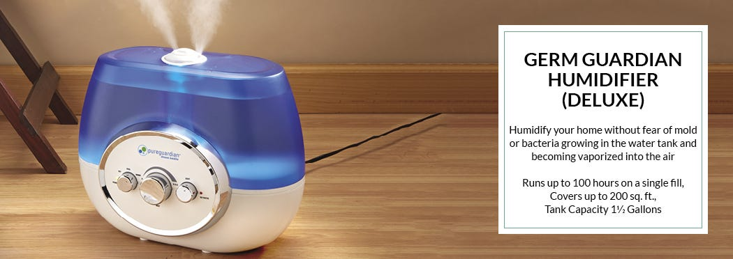 Germ Guardian Humidifier (Deluxe)