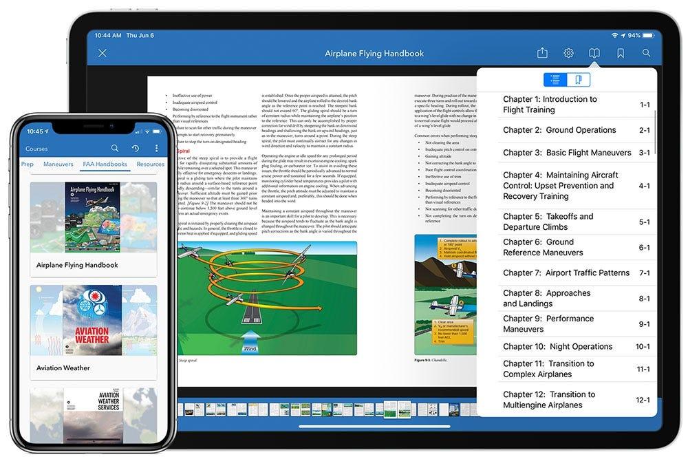 FAA handbooks