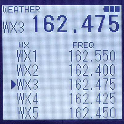 SP-400 Weather