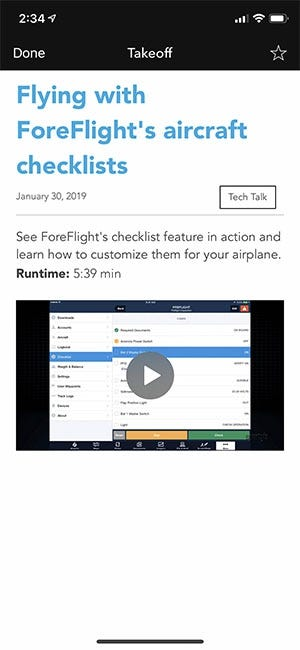 ForeFlight tip