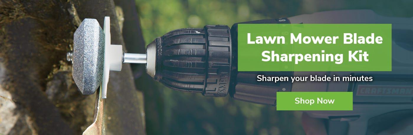 Lawn Mower Blade Sharpening Kit