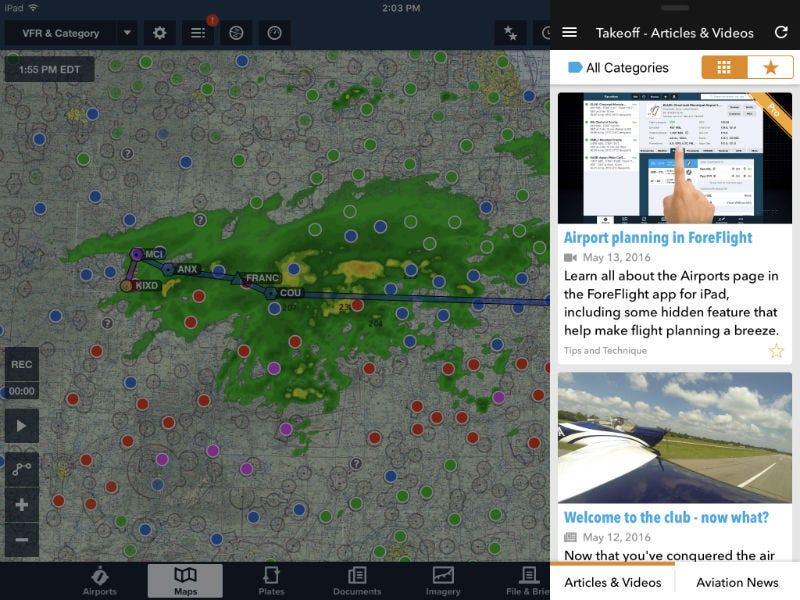 Takeoff multitasking