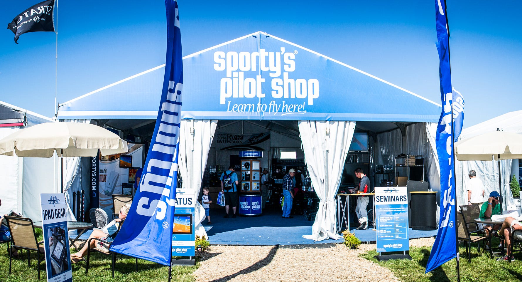 Sporty's Tent