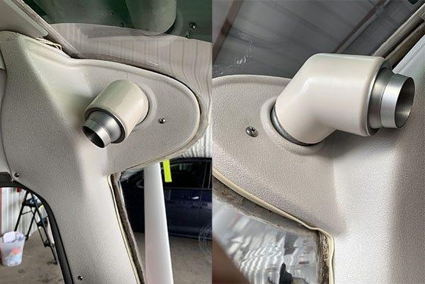Precise flow air vents
