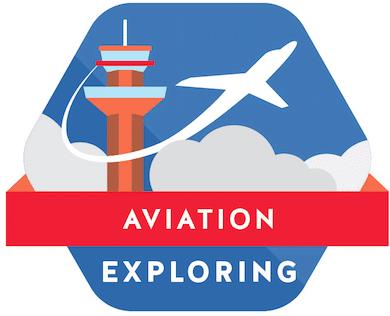 Aviation Exploring logo