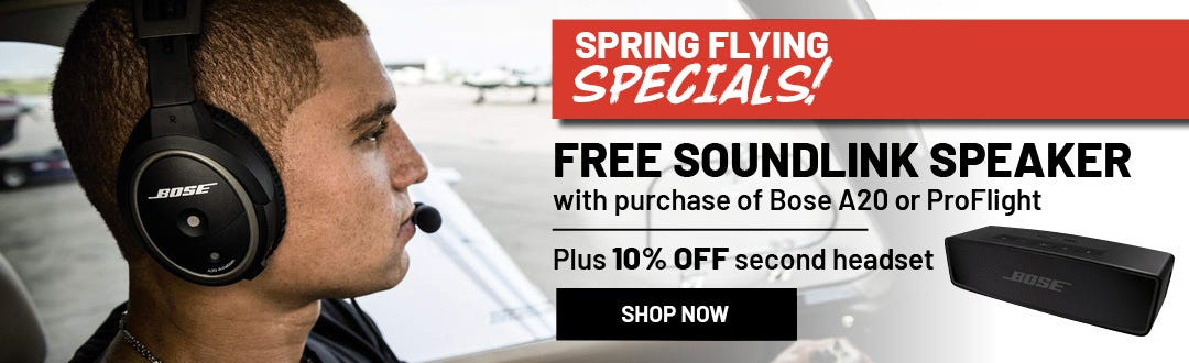 Bose Spring Flying Special