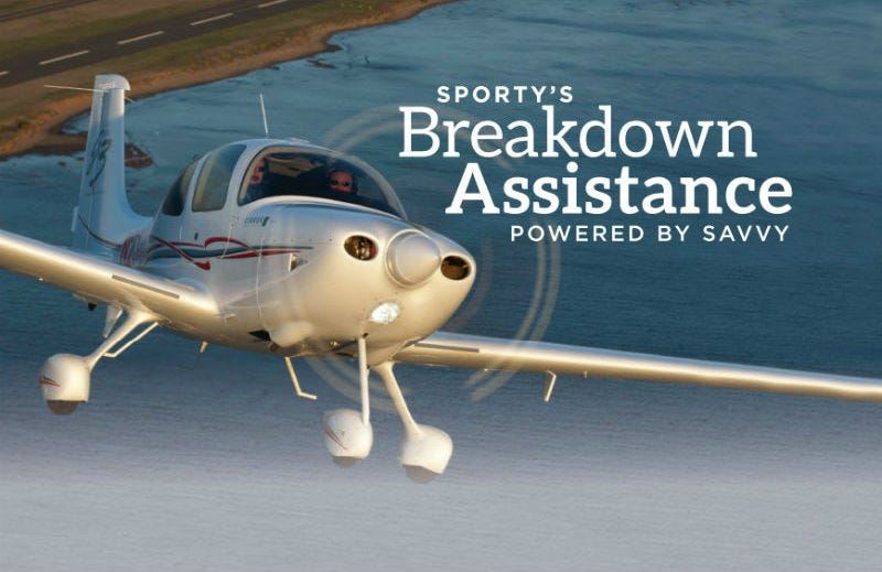 Breakdown Assistance Program from Sporty's