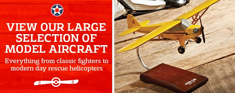 Over 1000 Model Aircraft - everything from classic fighters to modern day rescue helicopters