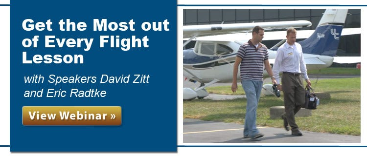 Get the most out of every flight lesson