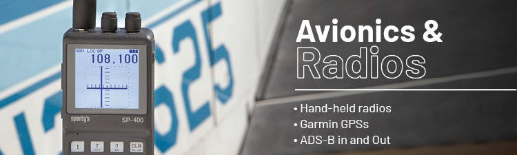 Avionics and radios from Sporty's