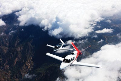 Cirrus Aircraft Flying