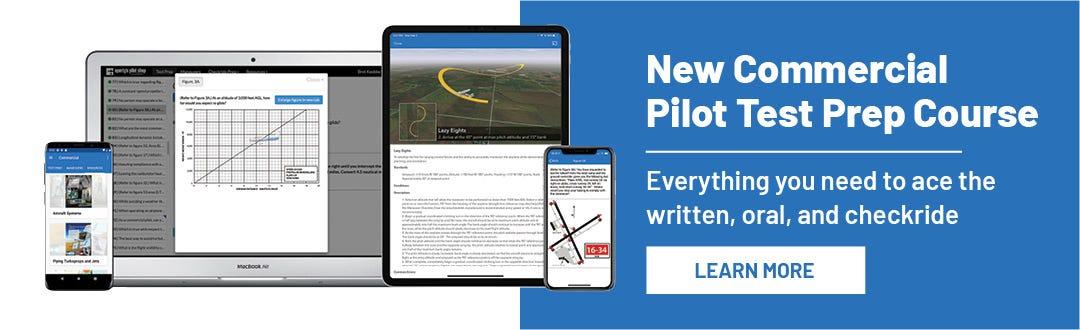 New Commercial Pilot Test Prep Course