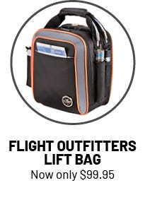 Flight Outfitters Lift bag 99 dollars