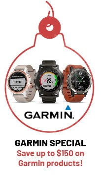 Garmin Watch specials