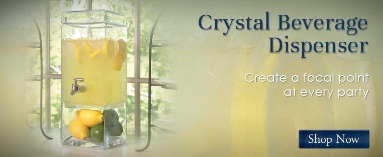 Crystal Baverage Dispansers