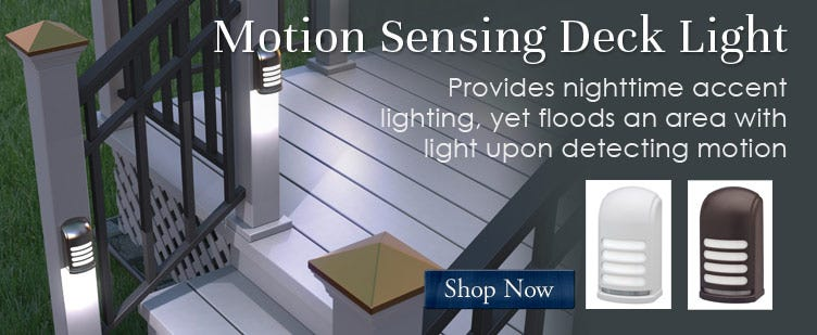 Motion Sensing Deck Light
