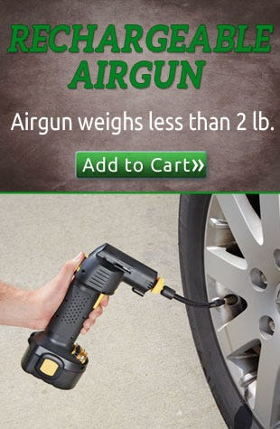 RECHARGEABLE AIRGUN CORDLESS AIR COMPRESSOR