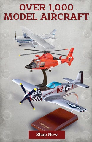 Over 1000 aircraft models