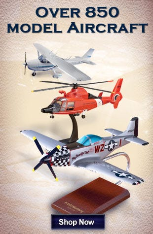 Over 850 aircraft models