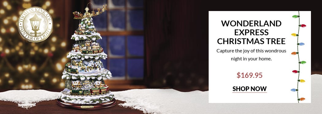 Wonderland Express Christmas Tree - from Preferred Living