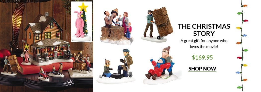 The Christmas Story figurines - from Preferred Living